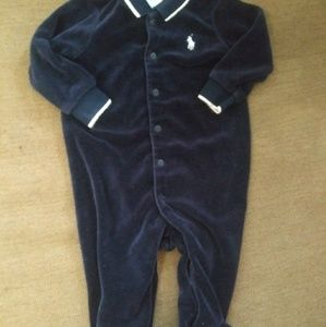 Ralph Lauren footed sleeper/romper 3M